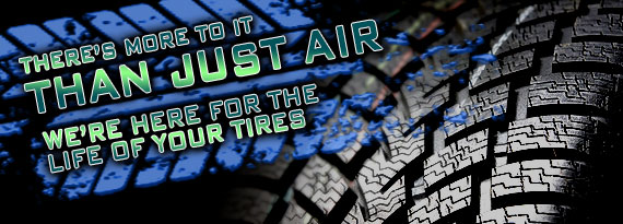 We're here for the Life of your Tires